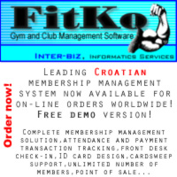 Club Membership Management and Tracking Software System FITKO